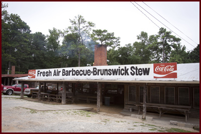 Fresh Air Barbeque in Jackson, Georgia